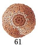 オリムパスレース糸 金票 40番 col.61 ボカシ 1箱(3玉入x50g) 【参考画像1】
