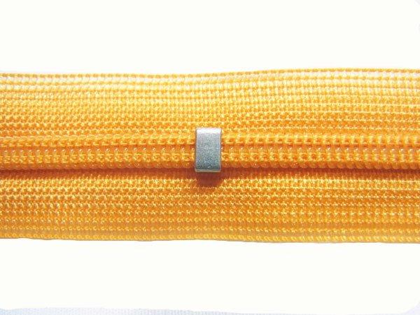 YKK 2CC コンシールファスナー 22cm col.846 橙色 【参考画像2】