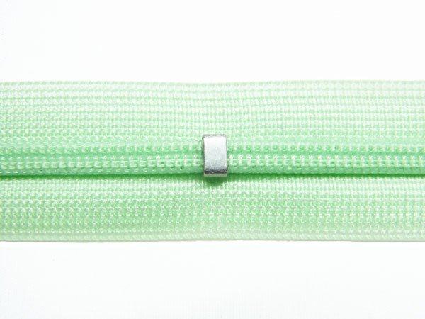 YKK 2CC コンシールファスナー 22cm col.532 薄緑 【参考画像2】