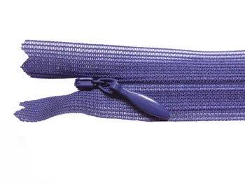 YKK 2CC コンシールファスナー 22cm col.559 深紫