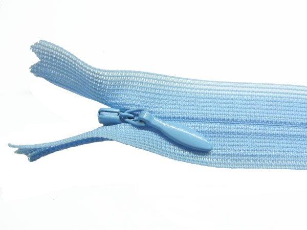 YKK 2CC コンシールファスナー 22cm col.546 薄ブルー系2 【参考画像1】