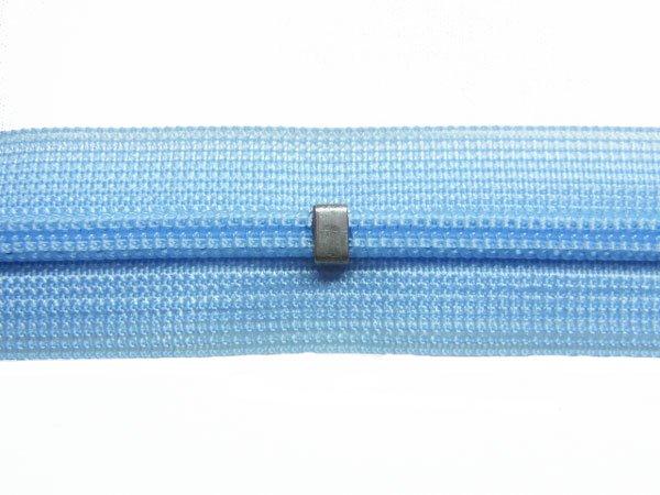YKK 2CC コンシールファスナー 22cm col.546 薄ブルー系2 【参考画像2】