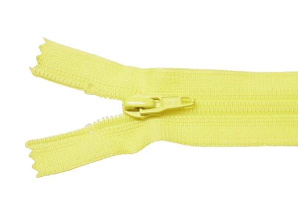YKK 25FK フラットニットファスナー 20cm col.504 黄色 【参考画像1】