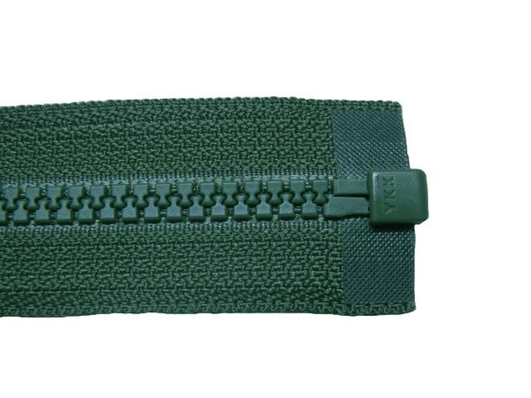 YKK 3VS ビスロンオープンファスナー 50cm col.530 深緑 【参考画像3】