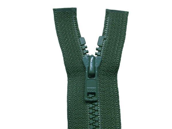 YKK 4VS ビスロンオープンファスナー 56cm col.530 深緑 【参考画像1】
