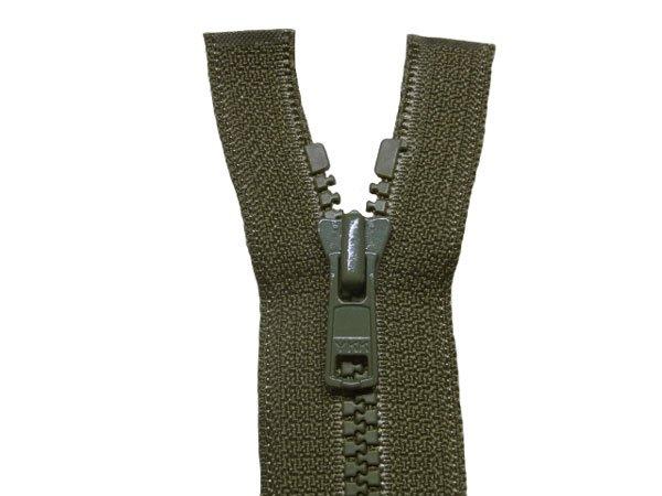 YKK 4VS ビスロンオープンファスナー 56cm col.566 モスグリーン 【参考画像1】