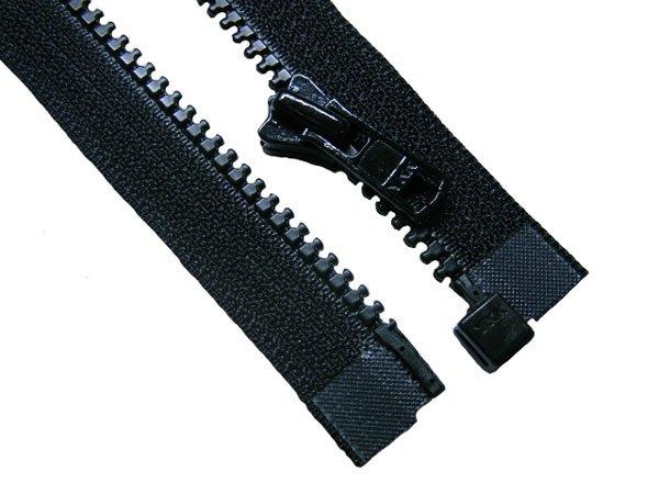 YKK 4VS ビスロンオープンファスナー 60cm col.580 黒 【参考画像2】