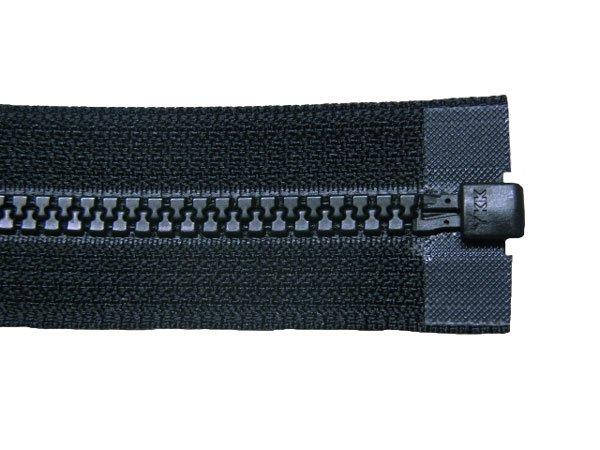 YKK 4VS ビスロンオープンファスナー 60cm col.580 黒 【参考画像3】