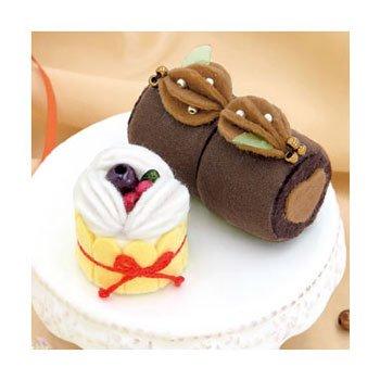 オリムパス 手芸キット チョコロールとベリーのシャルロット 新家幸枝デザイン