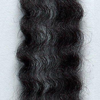 ハマナカ リアル羊毛フェルト 植毛カール ブラック H440-005-526