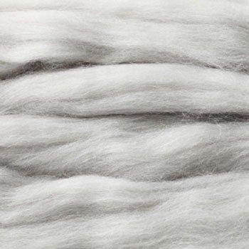 ハマナカ リアル羊毛フェルト 植毛ストレート シルバー H440-005-555