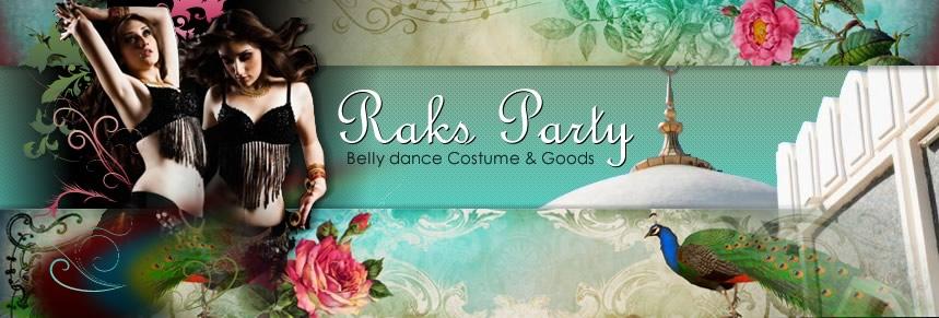 ベリーダンス衣装 ベリーダンスアクセサリー シルクベール Raks Party ラクスパーティ