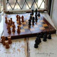 送料込!英国ヴィンテージ チェス イギリス