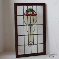 L3212-10-4 英国アンティーク ステンドグラス 窓枠 建材 イギリス