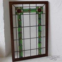 L3212-10-5 英国アンティーク ステンドグラス 窓枠 建材 イギリス