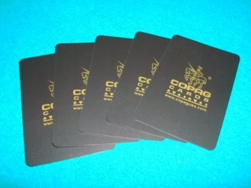 COPAG カッティング・カード(ブリッジ・サイズ) 5枚1セット