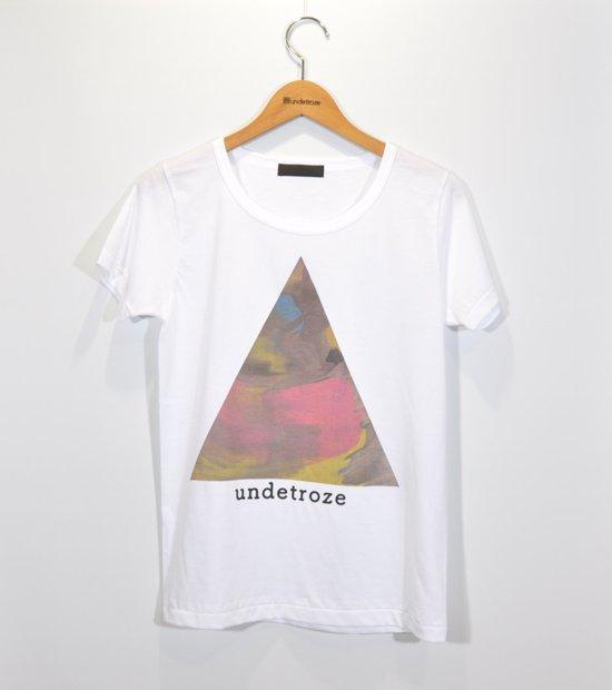 三角Tシャツマーブル