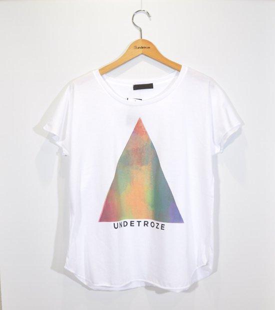 マーブル三角Tシャツ