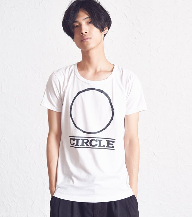 Circle Illust White
