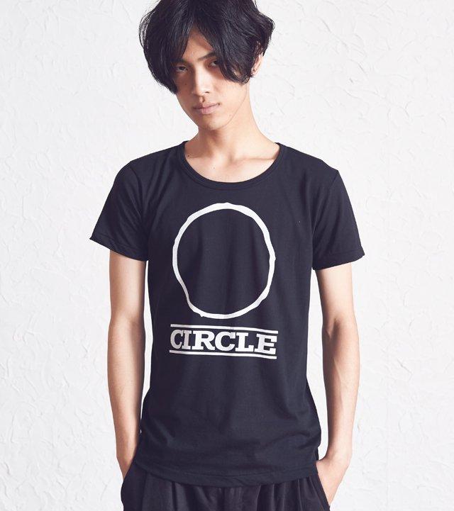 Circle Illust Black