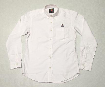 WMONワンポイントワッペンBDシャツ