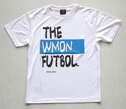 THEWMONFUTBOLプラシャツ