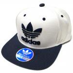 adidas Originals Thrasher Chain Snapback Hat (White/Navy) / ���ǥ����� ���ꥸ�ʥ륹 ����å��㡼 ���ʥåץХå�