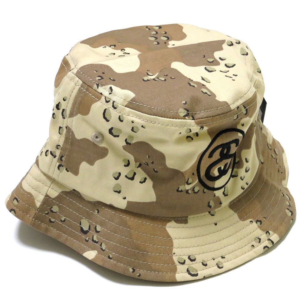 Stussy SS Link SP16 Bucket Hat(CAMO / ステューシー SSリンク バケットハット カモ 迷彩