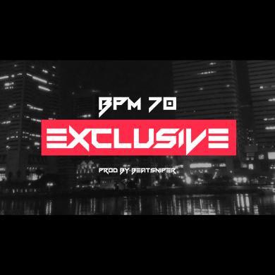 【独占使用】HIPHOP INST BPM70 EXCLUSIVE DOPE - ヒップホップ インストトラック