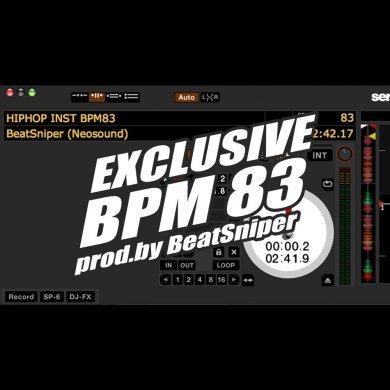 【独占使用】HIPHOP INST BPM83 EXCLUSIVE - ヒップホップ インストトラック hh-28