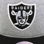 Mitchell & Ness SnapBack Cap Oakland Raiders(GRAY/BLACK)/ミッチェル&ネス レイダース<img class='new_mark_img2' src='https://img.shop-pro.jp/img/new/icons51.gif' style='border:none;display:inline;margin:0px;padding:0px;width:auto;' />
