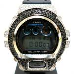 G-SHOCK Cubic Zirconia Bezel DW-6900(Siver/Black)/ジルコニア ベゼル<img class='new_mark_img2' src='https://img.shop-pro.jp/img/new/icons51.gif' style='border:none;display:inline;margin:0px;padding:0px;width:auto;' />