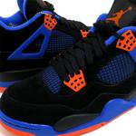 NIKE AIR JORDAN 4 RETRO CAVS(BLACK/ORANGE/ROYAL)/エアジョーダン4 カブス