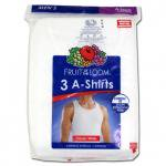 FRUIT OF THE LOOM A-SHIRT(WHITE) 3PACK/フルーツ オブ ザ ルーム タンクトップ 3枚セット
