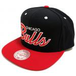 Mitchell & Ness SnapBack Cap BULLS(BLACK/RED)/ミッチェル&ネス シカゴブルズ スナップバック<img class='new_mark_img2' src='https://img.shop-pro.jp/img/new/icons29.gif' style='border:none;display:inline;margin:0px;padding:0px;width:auto;' />