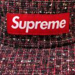 Supreme Bright Tweed Camp Cap(RED)/シュプリーム キャンプキャップ ブライト ツイード<img class='new_mark_img2' src='https://img.shop-pro.jp/img/new/icons51.gif' style='border:none;display:inline;margin:0px;padding:0px;width:auto;' />