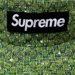 Supreme Bright Tweed Camp Cap(GREEN)/シュプリーム キャンプキャップ ブライト ツイード<img class='new_mark_img2' src='https://img.shop-pro.jp/img/new/icons51.gif' style='border:none;display:inline;margin:0px;padding:0px;width:auto;' />