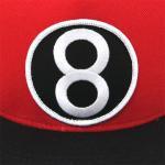 Supreme 8 Ball 5 Panel Cap(RED)/シュプリーム 5パネル キャップ 2012 F/W