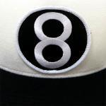 Supreme 8 Ball 5 Panel Cap(WHITE)/シュプリーム 5パネル キャップ 2012 F/W