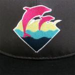 PINK DOLPHIN CLOTHING SNAPBACK CAP(CHARCOAL GRAY/BLACK)/ピンクドルフィン スナップバック キャップ