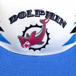 PINK DOLPHIN CLOTHING SNAPBACK CAP(WHITE/BLUE)/ピンクドルフィン スナップバック キャップ