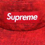 Supreme Croc Camp Cap(RED)/シュプリーム キャンプキャップ 2012 F/W<img class='new_mark_img2' src='https://img.shop-pro.jp/img/new/icons51.gif' style='border:none;display:inline;margin:0px;padding:0px;width:auto;' />