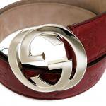 GUCCI Interlocking G Buckle Belt��RED��/���å� ���󥿡���å��� G�Хå��� �٥��<img class='new_mark_img2' src='http://shop.neosound.jp/img/new/icons51.gif' style='border:none;display:inline;margin:0px;padding:0px;width:auto;' />