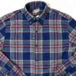 J Crew Shirt(NAVY)/ジェークルー チェック柄 シャツ<img class='new_mark_img2' src='https://img.shop-pro.jp/img/new/icons51.gif' style='border:none;display:inline;margin:0px;padding:0px;width:auto;' />