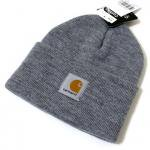 Carhartt Knit Cap(GRAY)/カーハート ニットキャップ<img class='new_mark_img2' src='https://img.shop-pro.jp/img/new/icons51.gif' style='border:none;display:inline;margin:0px;padding:0px;width:auto;' />
