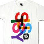 Stussy Overlap T-Shirt(WHITE)/ステューシー オーバーラップ Tシャツ 2013S<img class='new_mark_img2' src='https://img.shop-pro.jp/img/new/icons51.gif' style='border:none;display:inline;margin:0px;padding:0px;width:auto;' />