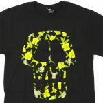 Stussy Flower Skull T-Shirt(BLACK/YELLOW)/ステューシー フラワースカル Tシャツ 2013Sモデル<img class='new_mark_img2' src='https://img.shop-pro.jp/img/new/icons51.gif' style='border:none;display:inline;margin:0px;padding:0px;width:auto;' />