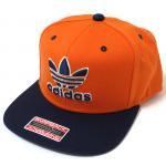 adidas Originals Thrasher SnapBack Cap(Orange/Navy)/アディダス オリジナルス スナップバックキャップ