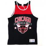 Mitchell & Ness NBA CLRBLCKED TANK TOP Chicago Bulls(BLACK)/ミッチェル&ネス ブルズ タンクトップ