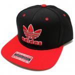 adidas Originals Thrasher SnapBack Cap(Black/Red)/アディダス オリジナルス スナップバックキャップ